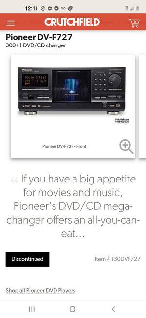 Pooneer dv f 727 300 plus 1 DVD cd player for Sale in Kennedale, TX