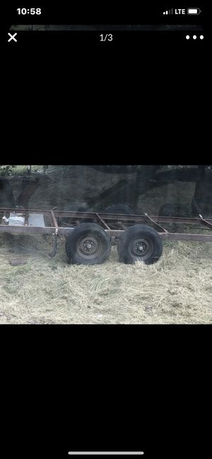 Free trailer beads are off tires 3 of them but tires are fine have to be put on ribs available tomorrow only after 12 I'm not going back and forth te for Sale in Stockton, CA