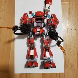 Lego Ninjago Fire Mech for Sale in Fort Lauderdale, FL