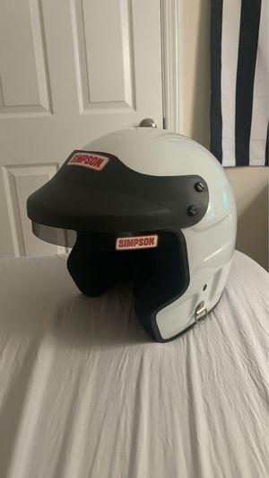 Simpson race helmet for Sale in Cape May, NJ