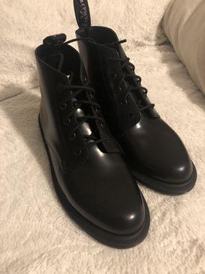 Doc Martens Emmeline Boots in Black Polished Smooth for Sale in Vallejo, CA