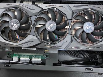 ASUS ROG-STRIX-RTX2070S-A8G-GAMING RTX 2070 SUPER 8GB Graphics Card ROG STRIX for Sale in West Chicago,  IL