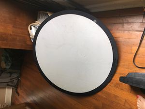 Bounce / Reflector for photography or film, white and silver side for Sale in Austin, TX