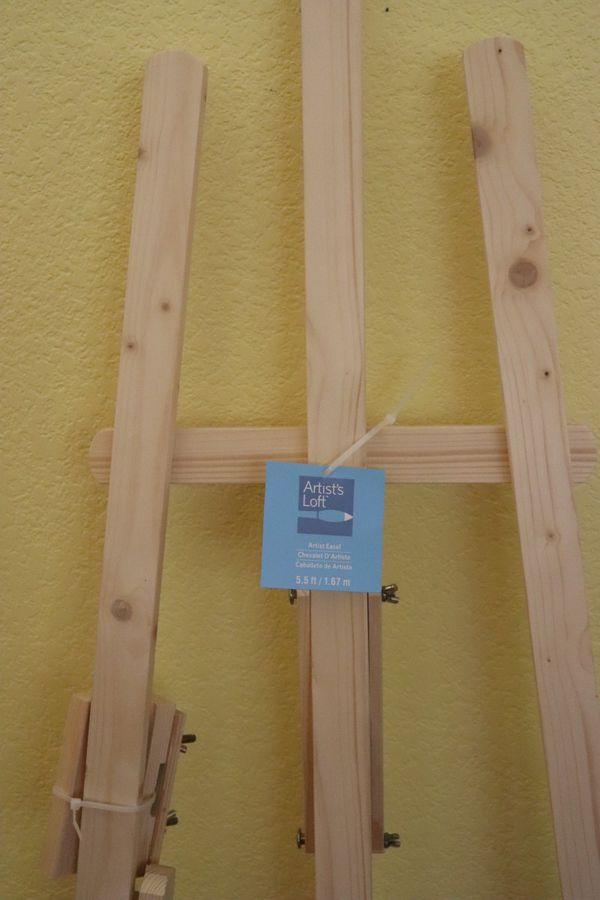 Wood Easel - new