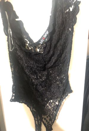 Black bodysuit $7 for Sale in Los Angeles, CA