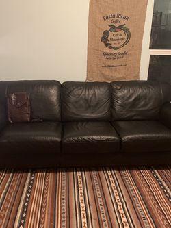 Italian leather Couch OBO for Sale in El Sobrante,  CA