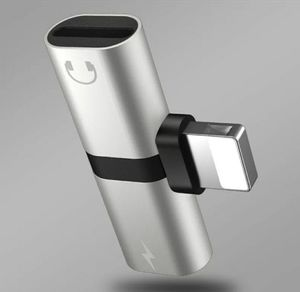 Lightning Splitter 2in1 Connector Charge Audio Adapter for iPhone for Sale in Los Angeles, CA
