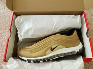 Nike Air Max 97 Metallic Gold Size 12 for Sale in Herndon, VA