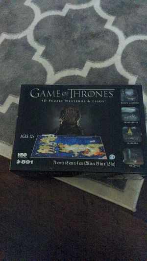 Game of thrones 4D puzzle for Sale in Houston, TX