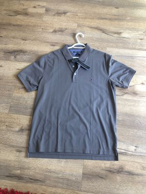 Gray Tommy Hilfiger slim fit polo - XXL for Sale in San Diego, CA