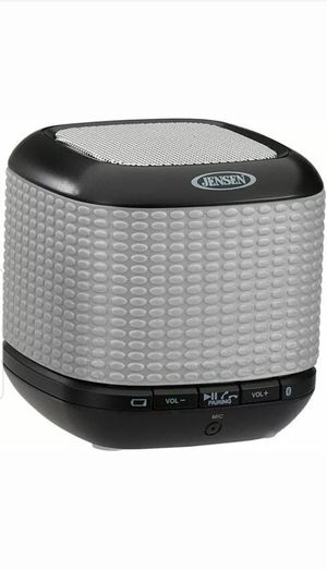 Jensen SMPS-621-SL Portable Bluetooth Wireless Speaker Hands-free speakerphone for Sale in Federal Way, WA