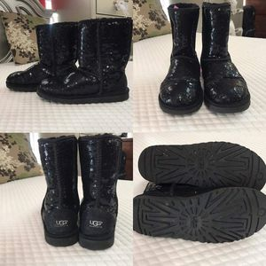 Girls black sequins UGGS for Sale in Tampa, FL