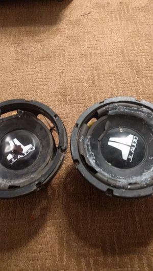 JL AUDIO (Dual voice coil subwoofer, Set of 2) for Sale in Bristow, VA