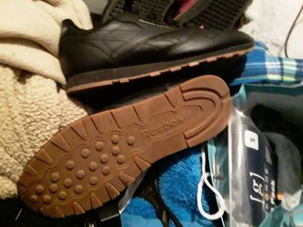 Reebok Classics. All Black With Brown Soles Sz. 11.5 for Sale in Oklahoma City,  OK