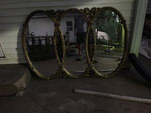Vintage triple mirror for Sale in Newton, KS