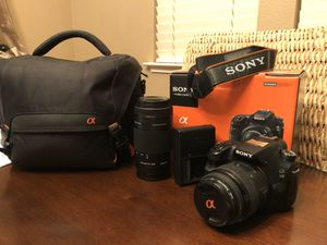 Sony A58 DSLT Bundle for Sale in Gilroy, CA