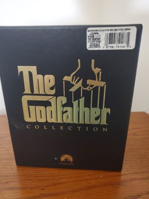 Godfather Collection (VHS) $10 for Sale in Blythewood, SC