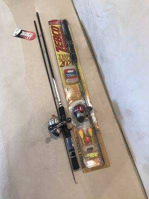 NEW Zebco 33 and 202 fishing rods for Sale in Scottsdale, AZ