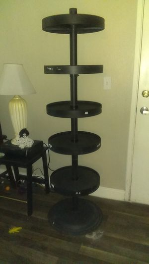 64 in tall. 5 shelves. Very sturdy. Heavy bottom. for Sale in Las Vegas, NV