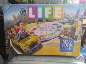 BOARD GAME N.Y. LIFE 9yrs + (serious buyers & slow responses get blocked) for Sale in Tampa, FL
