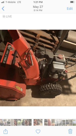 "Snow blower Arien 28"" wide for Sale in Denver, CO"