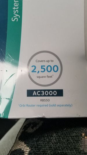 Netgear Orbi whole home WiFi system add-on satellite for Sale in Ontario, CA