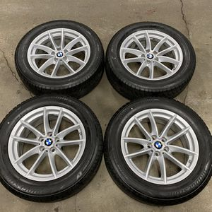 "18"" BMW WINTER RIM AND TIRES for Sale in Chaska, MN"