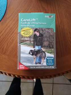 CareLift Full-Body Lifting Harness For Dog Size Medium for Sale in Oklahoma City,  OK