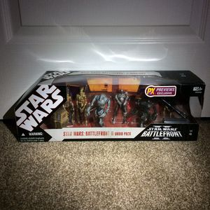 Star Wars Action Figures Vintage Battlefront II Droid Pack Exclusive Multipack for Sale in Concord, CA