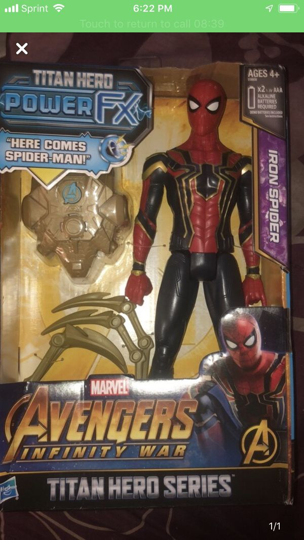 BRAND NEW Spider Man and Avengers Figurines