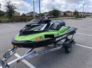 Sea-Doo 2017 GTR-X 230 Supercharged JetSki 1 Owner Clean Title for Sale in Orlando, FL