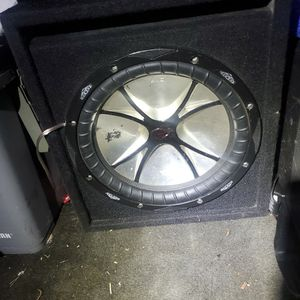 Kicker 12in Competition CVR for Sale in New Port Richey, FL