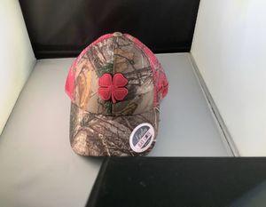 Pink camo Black clover hat for Sale in Mesa, AZ