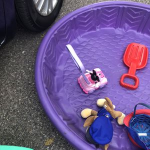 Wagon toy swimming pool everything $20 for Sale in Macomb, MI