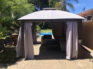 Great tent! For summer or winter time. You can close it from all sides for summer and winter use for Sale in Belmont, CA