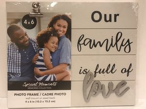 Photo Frame Holiday Gift with inspirational quotes. for Sale in Silver Spring, MD