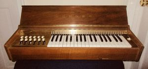 Rare antique 1950's Hohner wooden keyboard piano vintage musical instrument for Sale in Manasquan, NJ