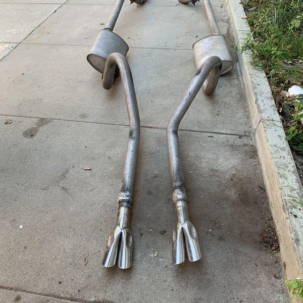 67-68 Mustang Exhaust Setup