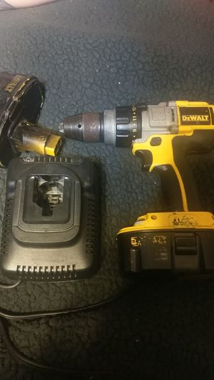 18v DeWalt drill, 2 batteries, and a charger for Sale in Anniston, AL