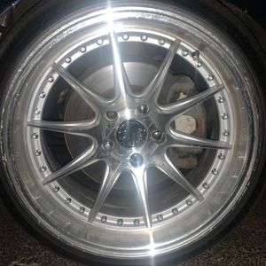 18x9 Rims And Band New Tire for Sale in Passaic, NJ