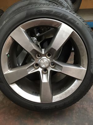 Camero wheels-normal wear and tires for Sale in Chula Vista, CA
