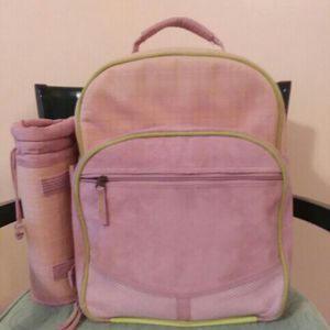 Pink Picnic Backpack/ Lunchbox for Sale in Angier, NC