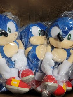 "Sonic the Hedgehog 19"" Plush Backpack for Sale in Los Angeles,  CA"
