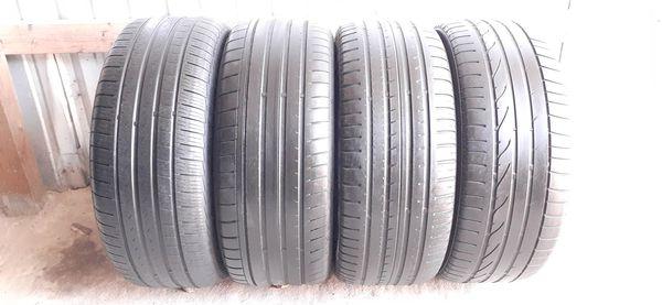 4 tires 245 45 18 run flat low pro