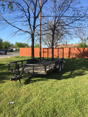18ft utility trailer for Sale in Fort Worth, TX