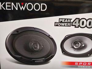 Car speakers : KENWOOD 6×9 3 way 400 watts car speakers for Sale in Bell Gardens, CA