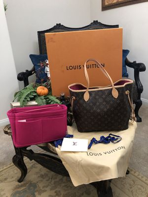 NEW LOUIS VUITTON MONOGRAM NEVERFULL MM COMES WITH ORGANIZER BOX DUST BAG AND RECEIPT ONLY MESAGE IF YOU INTERESTED THANK YOU for Sale in Los Angeles, CA