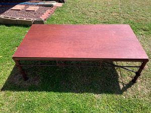 Rustic metal coffee table, 30x60x18 for Sale in Phoenix, AZ