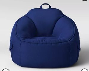 Canvas Bean Bag Chair - Pillowfort New Kids Cargo Pockets for Sale in Colton, CA