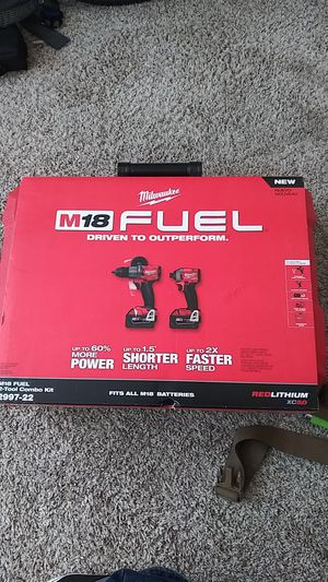 M18 FUEL 2-Tool Combo Kit for Sale in San Diego, CA